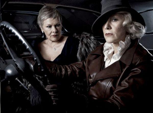 Judi Dench and Helen Mirren by Annie Leibovitz.