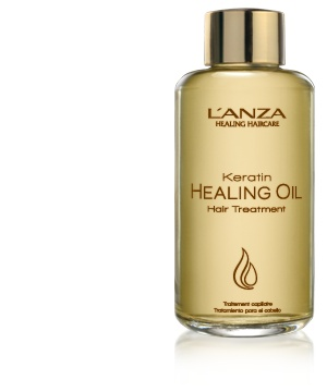 L'anza Keratin Healing Oil Hair Treatment is amazing for all hair types and excessively damaged hair. Use this before your blowdry to reduce drying time and to protect your hair up to 500 F. It stops humidity to prevent frizz which is great for Summer!