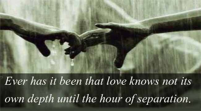 Quotes About Love Kahlil Gibran : love quotes