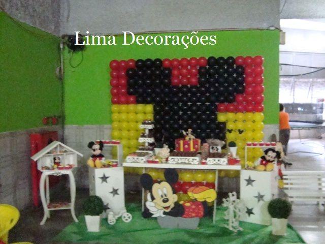 decoracao festa mickey : decoracao festa mickey: Provençal – Mickey