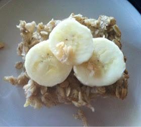 Banana Bread Oatmeal Breakfast Bars | Eating | Pinterest