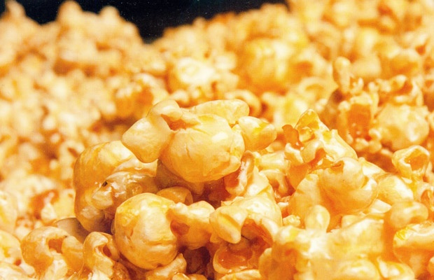 Popcorn With Bacon Fat, Bacon, And Maple Syrup Recipe ...