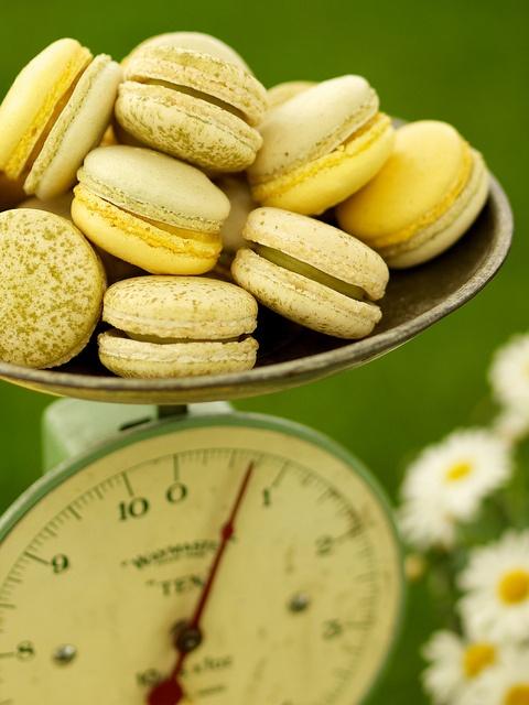 Green Tea Macarons | Inspiration....Food | Pinterest