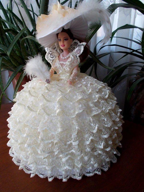 Как сделать шкатулку куклу