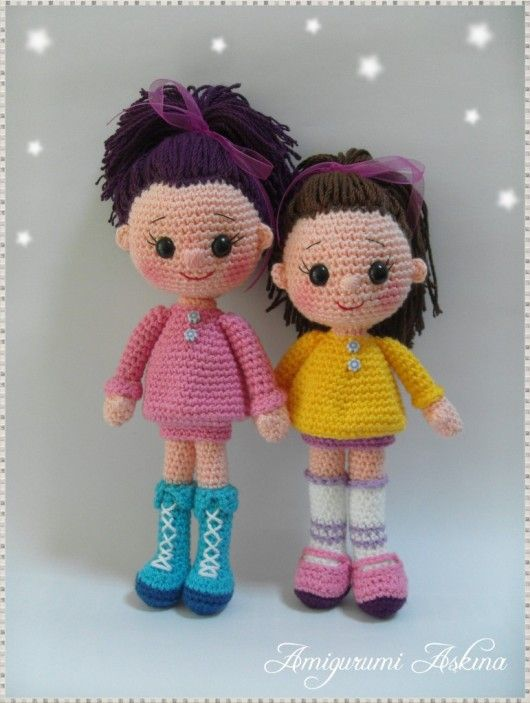 Amigurumi Askina Bebek : Amigurumi dolls coocoo for crocheting Pinterest