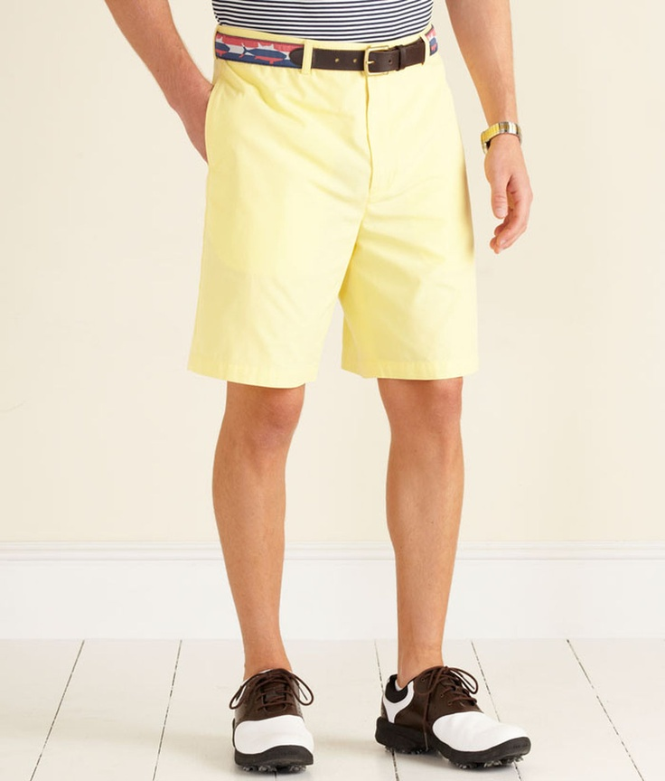 Vineyard Vines Links Shorts in Sunny