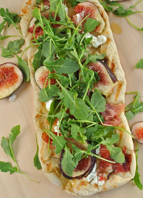 goat cheese pizza stuffed chanterelles with goat cheese and prosciutto ...
