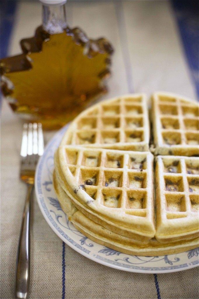 Chocolate Chip Waffles | Waffles. | Pinterest