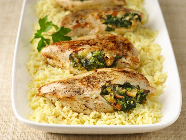 Spinach-Stuffed Chicken Breasts | Recipe