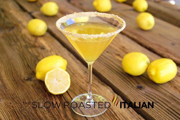 Lemon Cream Pie Martini   Drinks   Pinterest