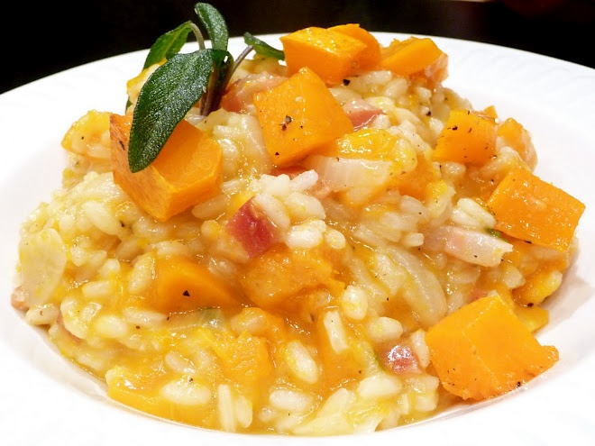 Roasted Butternut Squash Risotto | Recipes & Ideas | Pinterest