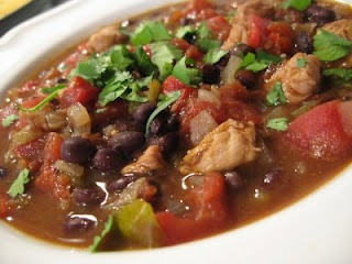 Black Bean, Chicken, and Red Pepper Stew | Black Beans and Chicken Re ...