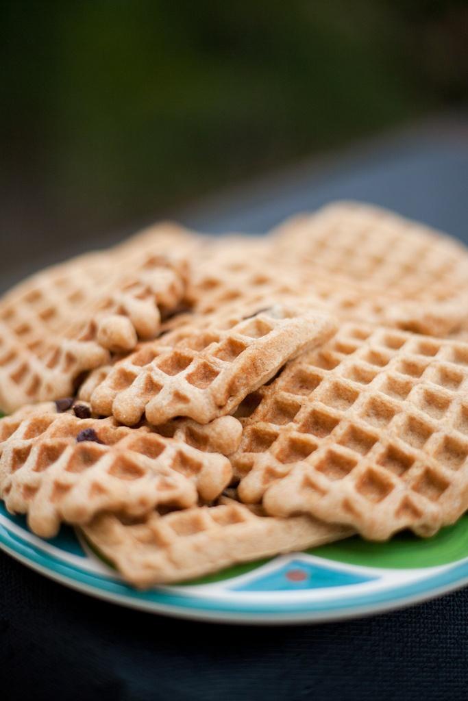 100% Whole Grain Buttermilk #waffles | @dreawood | Pinterest