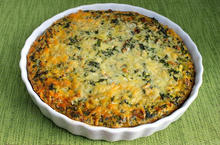 Crustless-Spinach-Mushroom-Quiche | I Don't Know If Real Men Eat Quic ...