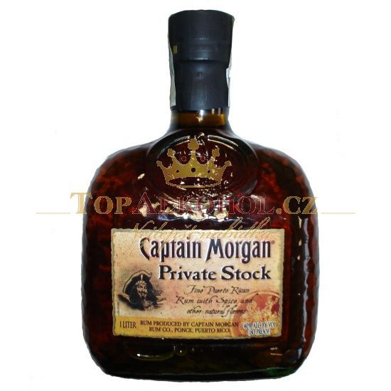 Captain Morgan Private Stock A Few Of My Favorite Things