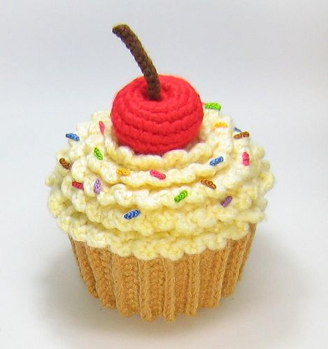 Amigurumi Cute Cupcake : Amigurumi Cupcake Crocheting for Children Pinterest