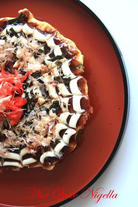 okonomiyaki japanese pizza pancake | Food! | Pinterest