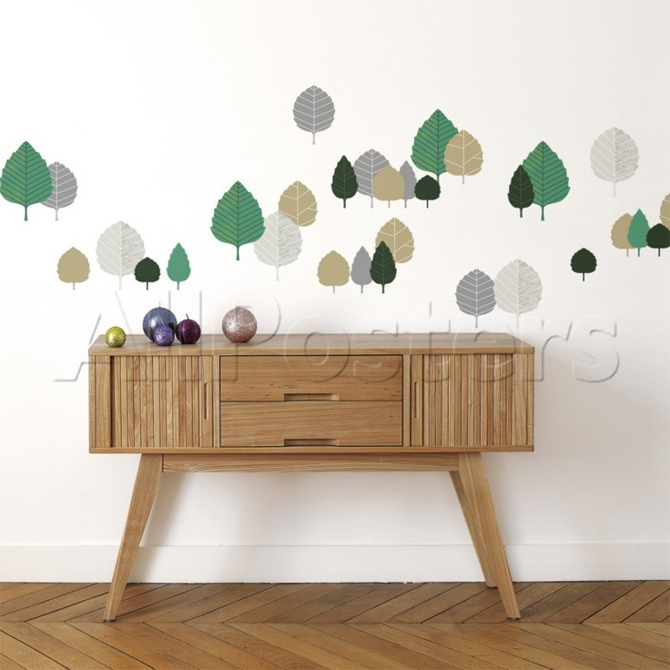Beech leaves Wall Decal - AllPosters.co.uk