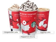 skinny mint mocha, gingerbread, and eggnog lattes at home on those icy ...