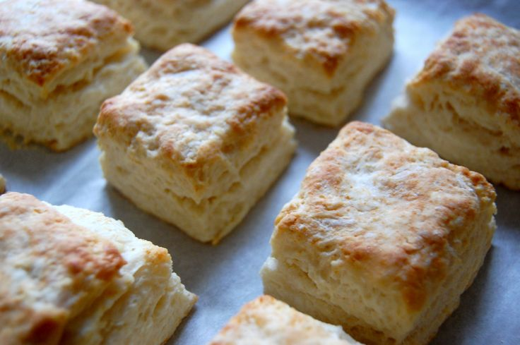 "Flaky Layers"" Biscuits 