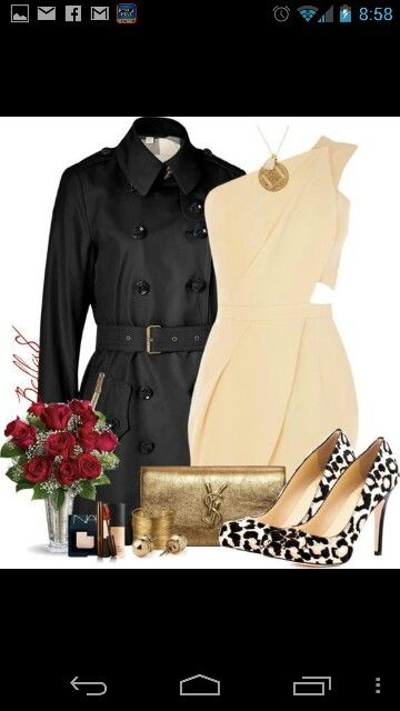 Valentines day dinner outfit!