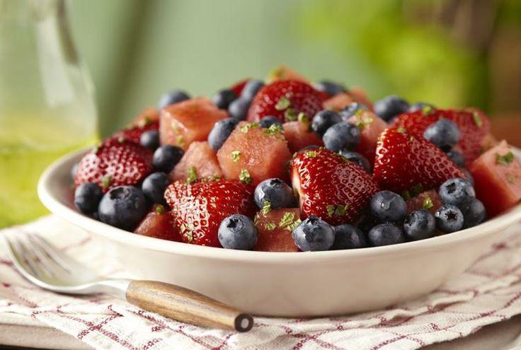 ... Strawberry, Blueberry and Watermelon Salad Recipe | www.driscolls.com