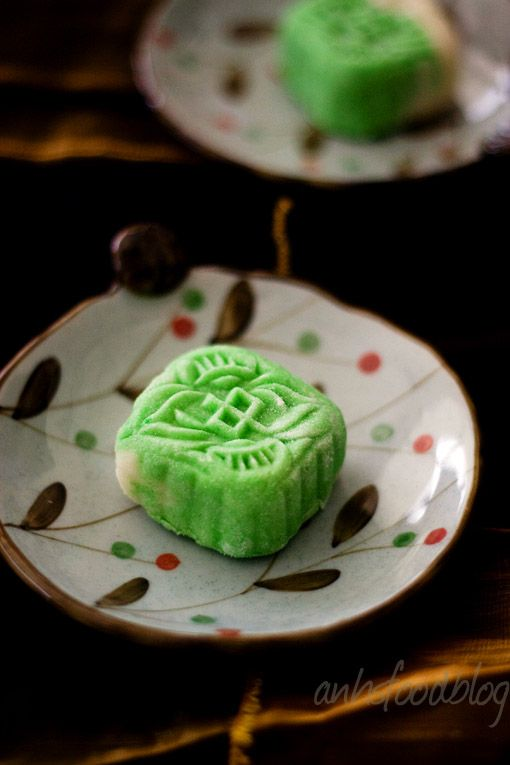 basic snow skin mooncakes- Vietnam | Gastronomía del Mundo ...