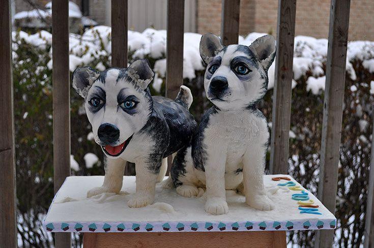 Zorica Cake Art : Pin by Pat Korn on Dog Cakes Pinterest