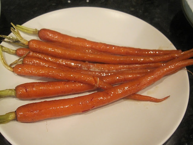 Braised Carrots with Saffron | A Great American Cook | Pinterest