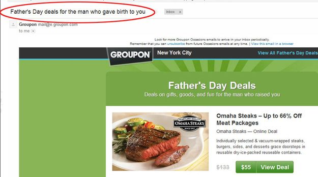groupon father's day