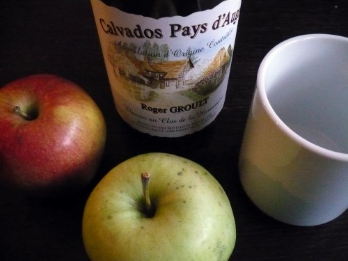 ... apple into the mug, add sugar and brandy, and then top with hot water