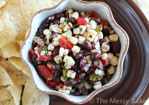 Black Bean & Fire Roasted Corn Salsa