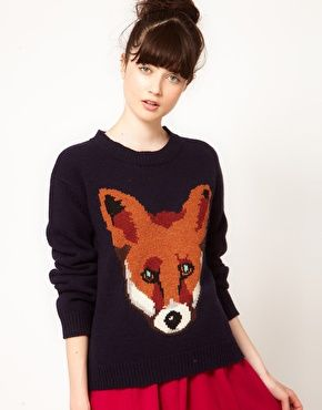 Fall Trend--animal sweaters