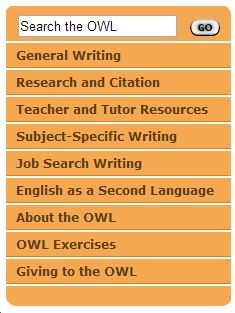 Example PPT Template - Purdue Online Writing Lab - Purdue