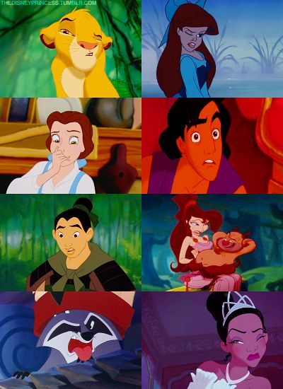 The various ways Disney characters say