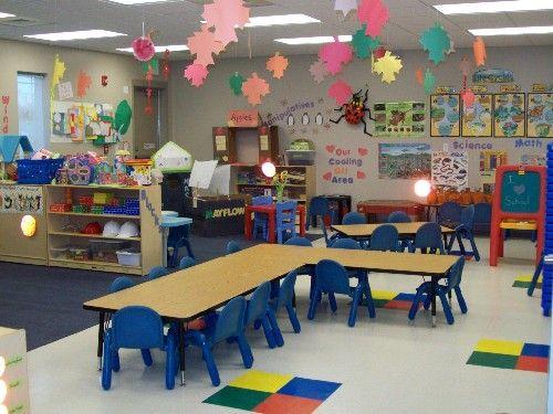 Classroom Design For Pre K : Table arrangement prek owl room and polka dot theme