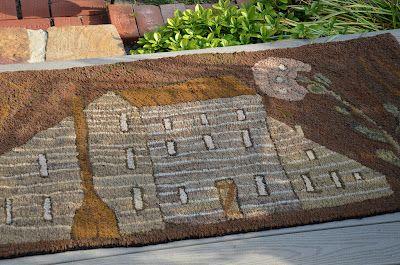 Linda Brannock: Hooked Rugs