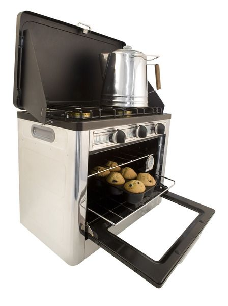 Camp Chef Outdoor Camp Oven 2 Burner Range and Stove : Wantist