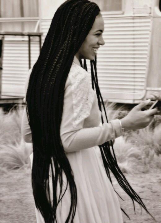 Solange box braids | D.I.Y. Projects | Pinterest