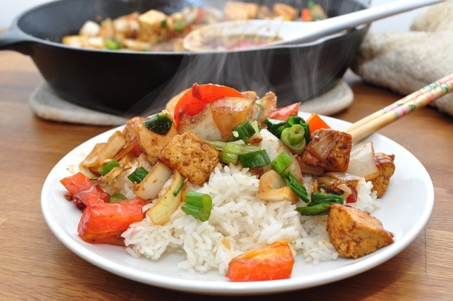 Sweet and Sour Tofu stir fry | Easy To Make Recipes | Pinterest
