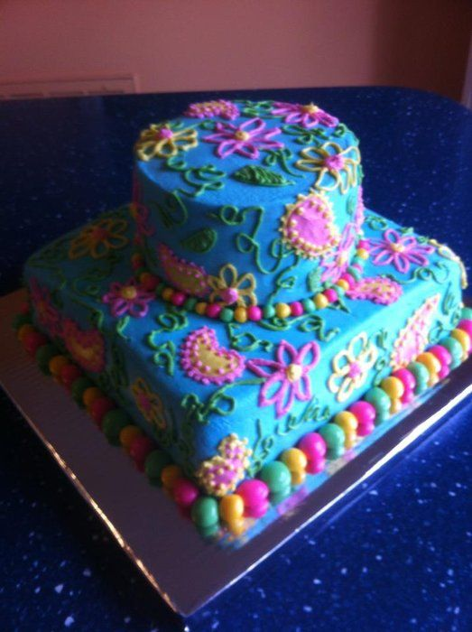 Lilly Pulitzer Inspired cake  Cakes, Cookies, Chocolates & More ...