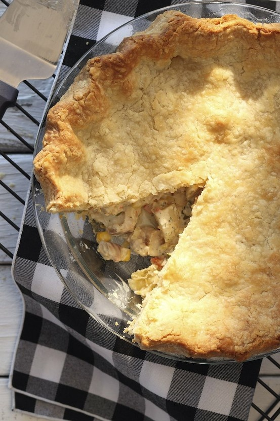 Provencal Seafood Pie Recipe — Dishmaps
