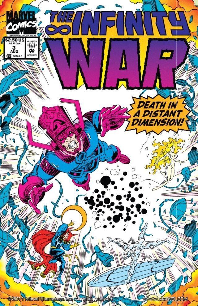 Infinity War Comics Fr