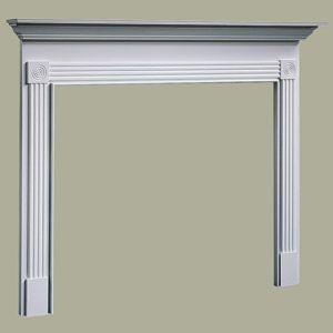 Traditional wood fireplace mantel surrounds mantelsdirect com