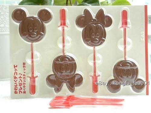 Mickey and Minnie Mouse Chocolate Molds