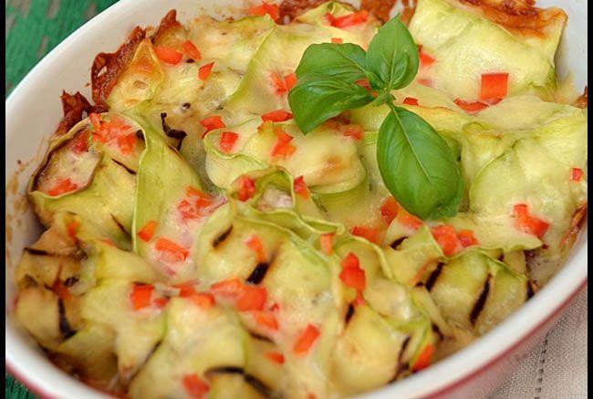 Spicy Grilled Zucchini Recipe — Dishmaps