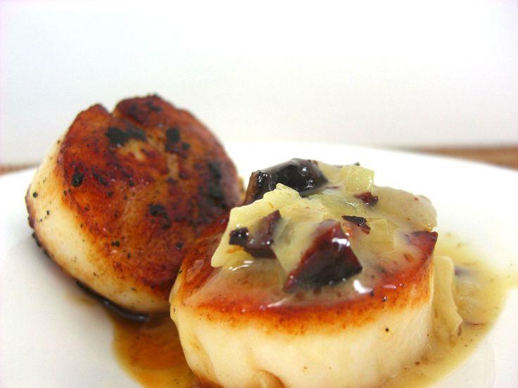 Pacific Scallops with Bacon and Vanilla | Harbor Fare | Pinterest