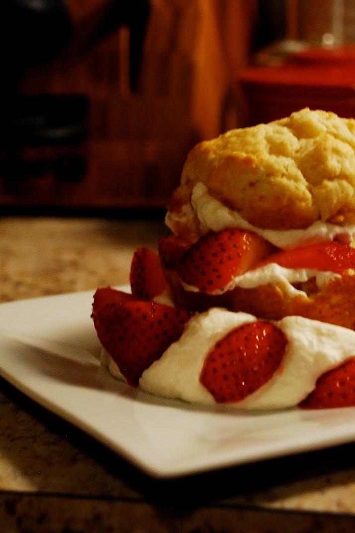 Easy Strawberry Shortcake | preheat | Pinterest