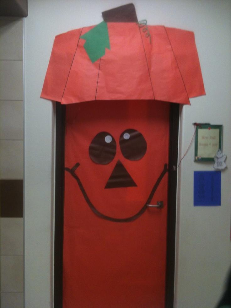 Decorating Ideas > FallHalloween Door Decoration I Did At The School I Work  ~ 030234_Halloween Door Decorations For School