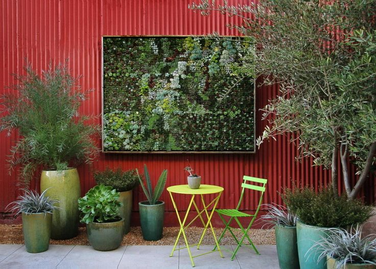 Outdoor Fence Wall Art